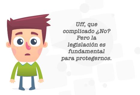 Personaje Legislación